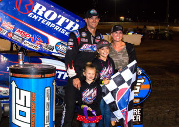 The Pittman family looks forward to getting back on track.