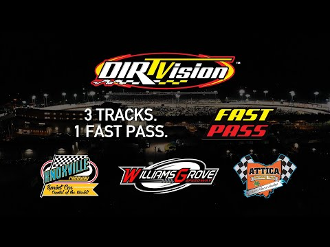 3 Weekly Tracks added to the DIRTVision Fast Pass!