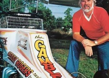 Kenny Rogers and a Gambler Chassis