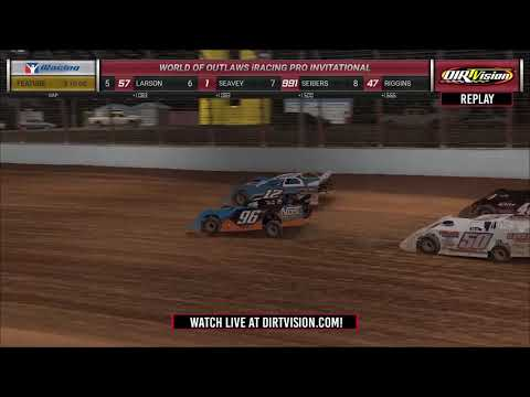 DIRTVISION REPLAYS | Morton Buildings iRacing Invitational March 29th, 2020
