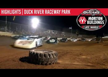 World of Outlaws Morton Buildings Late Models Duck River Raceway Park, March 6, 2020 | HIGHLIGHTS
