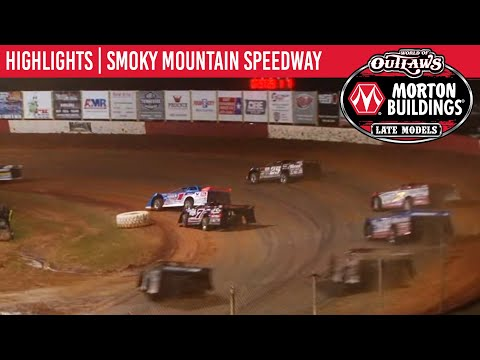 World of Outlaws Morton Buildings Late Models Smoky Mountain Speedway, March 7, 2020 | HIGHLIGHTS