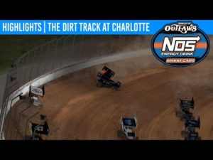 World of Outlaws NOS Energy Drink Sprint Cars Dirt Track at Charlotte, March 29th, 2020 | HIGHLIGHTS