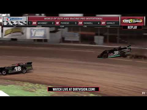 DIRTVISION REPLAYS | Morton Buildings iRacing Invitational April 13th, 2020