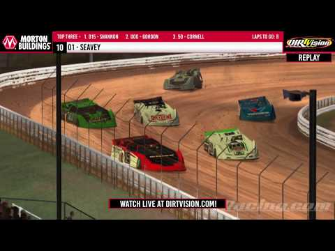 DIRTVISION REPLAYS | Morton Buildings iRacing Invitational April 20th, 2020