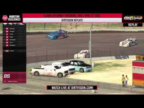 DIRTVISION REPLAYS | Morton Buildings iRacing Invitational April 27th, 2020