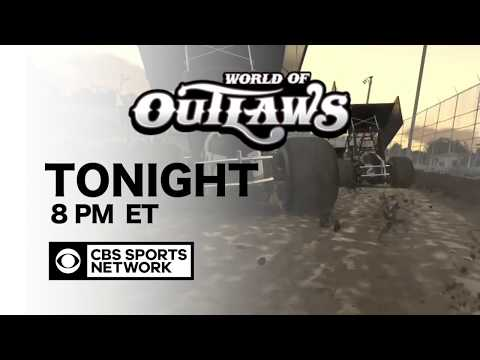 WORLD OF OUTLAWS DRIVES IRACING TO CBS SPORTS NETWORK