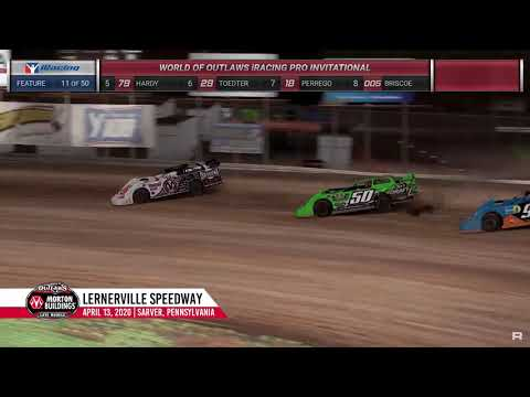 World of Outlaws Morton Buildings Late Models Lernerville Speedway, April 13th, 2020 | HIGHLIGHTS