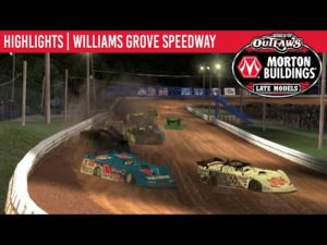 World of Outlaws Morton Buildings Late Models Williams Grove Speedway, April 20th, 2020 | HIGHLIGHTS