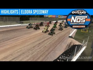World of Outlaws NOS Energy Drink Sprint Cars Eldora Speedway, April 26th, 2020   HIGHLIGHTS
