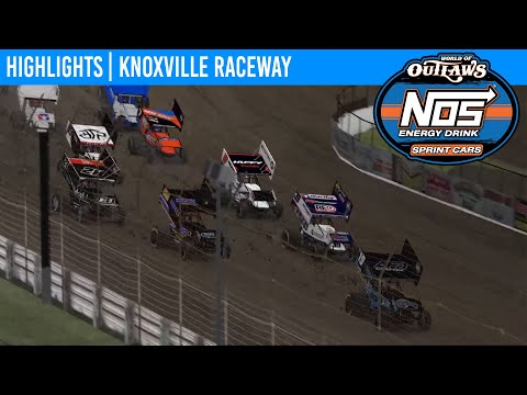 World of Outlaws NOS Energy Drink Sprint Cars Knoxville Raceway, April 7th, 2020 | HIGHLIGHTS