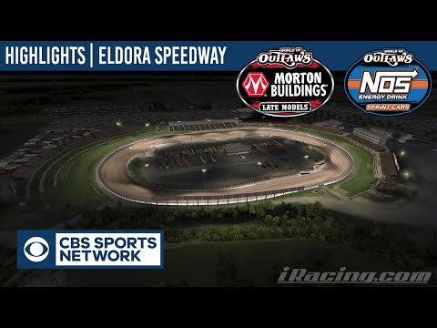 CBS Sports Network World of Outlaws Eldora Speedway April 28th, 2020 | HIGHLIGHTS