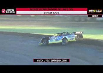 DIRTVISION REPLAYS   Davenport Speedway May 29, 2020