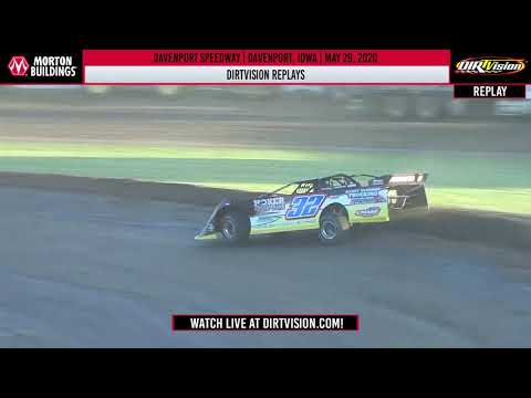 DIRTVISION REPLAYS | Davenport Speedway May 29, 2020