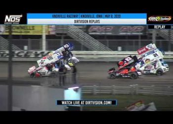 DIRTVISION REPLAYS | Knoxville Raceway May 8, 2020