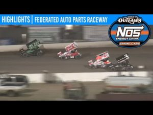 World of Outlaws NOS Energy Drink Sprint Cars Federated Auto Parts Raceway May 23, 2020 | HIGHLIGHTS