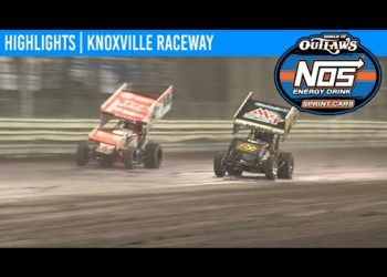 World of Outlaws NOS Energy Drink Sprint Cars Knoxville Raceway, May 8, 2020 | HIGHLIGHTS