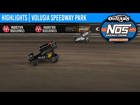 World of Outlaws NOS Energy Drink Sprint Cars Volusia Speedway Park, May 3, 2020 | HIGHLIGHTS