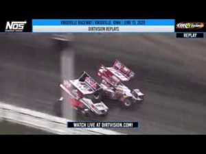 DIRTVISION REPLAYS   Knoxville Raceway June 13, 2020