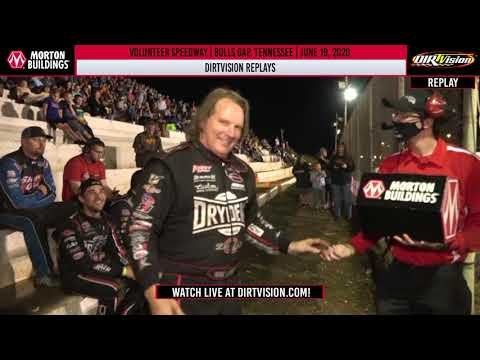 DIRTVISION REPLAYS | Volunteer Speedway June 19th, 2020