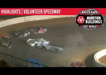 World of Outlaws Morton Buildings Late Models Volunteer Speedway, June 19th, 2020 | HIGHLIGHTS