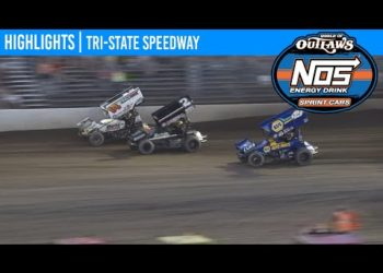 World of Outlaws NOS Energy Drink Sprint Cars Tri-State Speedway, June 20, 2020 | HIGHLIGHTS