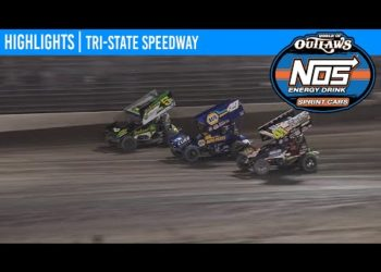 World of Outlaws NOS Energy Drink Sprint Cars Tri-State Speedway, June 19, 2020 | HIGHLIGHTS
