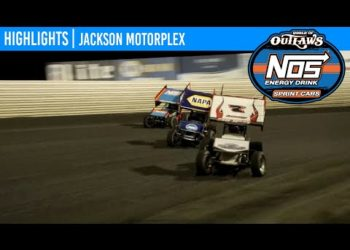 World of Outlaws NOS Energy Drink Sprint Cars Jackson Motorplex, June 27, 2020 | HIGHLIGHTS
