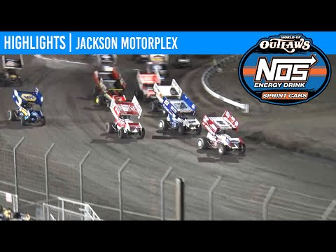 World of Outlaws NOS Energy Drink Sprint Cars Jackson Motorplex, June 26, 2020 | HIGHLIGHTS