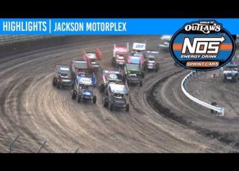 World of Outlaws NOS Energy Drink Sprint Cars Jackson Motorplex, June 25, 2020 MAKE-UP | HIGHLIGHTS