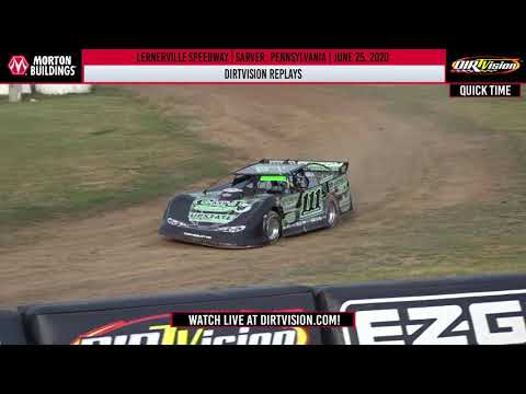 DIRTVISION REPLAYS | Lernerville Speedway June 25th, 2020