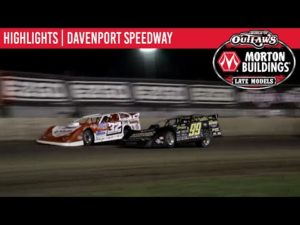 World of Outlaws Morton Buildings Late Models Davenport Speedway, May 30th, 2020   HIGHLIGHTS