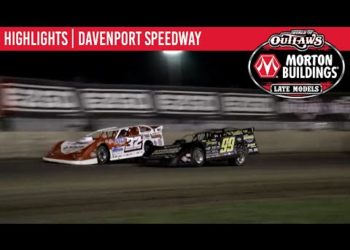 World of Outlaws Morton Buildings Late Models Davenport Speedway, May 30th, 2020 | HIGHLIGHTS