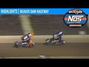 World of Outlaws NOS Energy Drink Sprint Cars Beaver Dam Raceway, June 5, 2020   HIGHLIGHTS