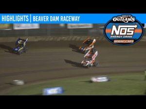 World of Outlaws NOS Energy Drink Sprint Cars Beaver Dam Raceway, June 6, 2020 | HIGHLIGHTS