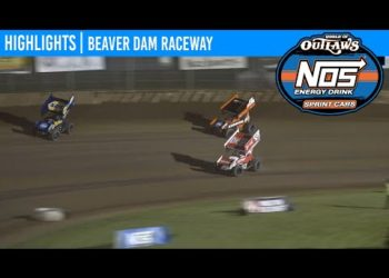 World of Outlaws NOS Energy Drink Sprint Cars Beaver Dam Raceway, June 6, 2020 | HIGHLIGHTS