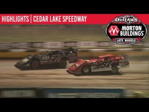 World of Outlaws Morton Buildings Late Models Cedar Lake Speedway, July 2, 2020   HIGHLIGHTS