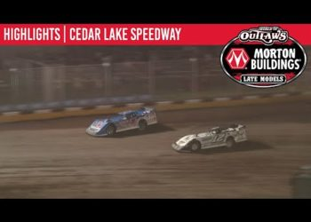World of Outlaws Morton Buildings Late Models Cedar Lake Speedway, July 3, 2020 | HIGHLIGHTS