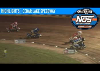 World of Outlaws NOS Energy Drink Sprint Cars Cedar Lake Speedway, July 2, 2020 | HIGHLIGHTS