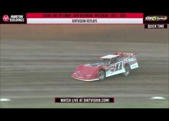 DIRTVISION REPLAYS | Cedar Lake Speedway July 2, 2020