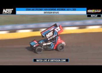 DIRTVISION REPLAYS | Cedar Lake Speedway July 4, 2020