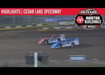 World of Outlaws Morton Buildings Late Models Cedar Lake Speedway, July 4, 2020 | HIGHLIGHTS