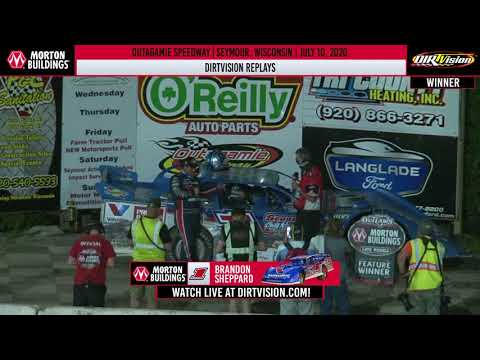 DIRTVISION REPLAYS | Outagamie Speedway July 10, 2020