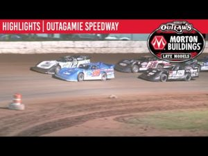World of Outlaws Morton Buildings Late Models Outagamie Speedway, July 10, 2020   HIGHLIGHTS