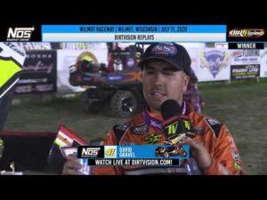 DIRTVISION REPLAYS | Wilmot Raceway July 11, 2020
