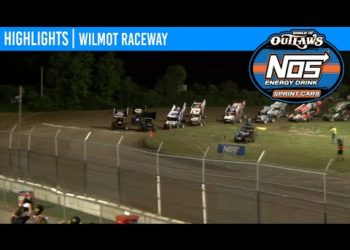World of Outlaws NOS Energy Drink Sprint Cars Wilmot Raceway, July 11, 2020 | HIGHLIGHTS