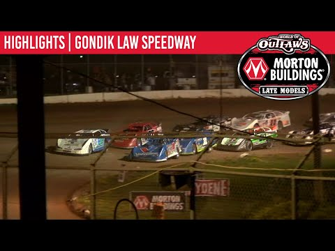 World of Outlaws Morton Buildings Late Models Gondik Law Speedway, July 14, 2020 | HIGHLIGHTS