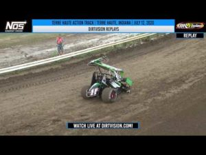 DIRTVISION REPLAYS | Terre Haute Action Track July 12, 2020