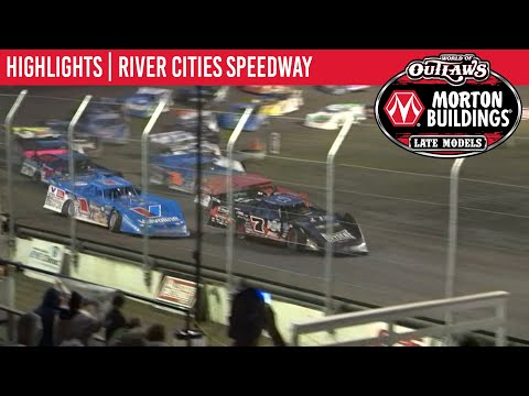 World of Outlaws Morton Buildings Late Models River Cities Speedway, July 19, 2020 | HIGHLIGHTS