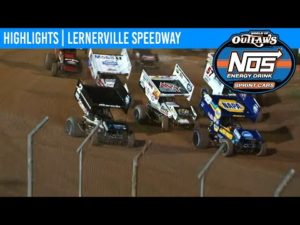 World of Outlaws NOS Energy Drink Sprint Cars Lernerville Speedway, July 21, 2020   HIGHLIGHTS